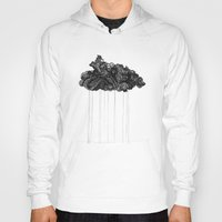 cloud Hoodies featuring Cloud by Ellen Vingren