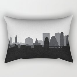 City Skylines: Austin (Alternative) Rectangular Pillow