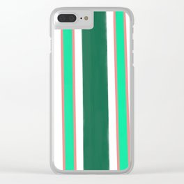 Summer Sage Clear iPhone Case