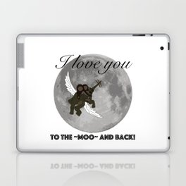 To The Moo And Back Laptop & iPad Skin