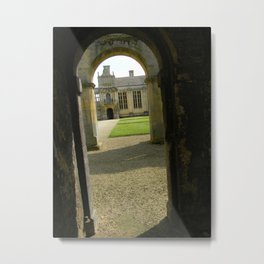 Arches at Kirby Hall Metal Print