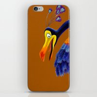 kevin russ iPhone & iPod Skins featuring Kevin by Shannon Gordy