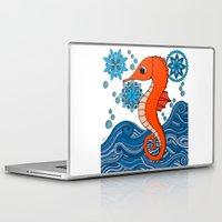 seahorse Laptop & iPad Skins featuring Seahorse by tamaradeborah