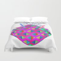 happy birthday Duvet Covers featuring Happy Birthday by LoRo  Art & Pictures