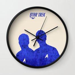 Star Trek 46 Anniversary Poster - James T. Kirk quote Wall Clock