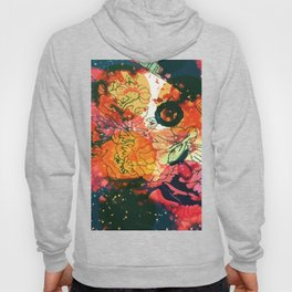 Vintage Pop Abstract Chinese Pattern Hoody