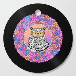 Spring Owl Cutting Board