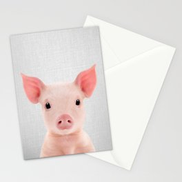 Piglet - Colorful Stationery Cards