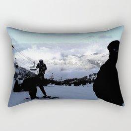 Up here with wonderful views Rectangular Pillow