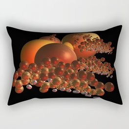 outside in the galaxy Rectangular Pillow