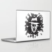 watchmen Laptop & iPad Skins featuring Rorschach by Vickn