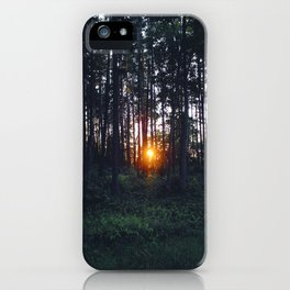 Glimmer of Hope #Sunset iPhone Case