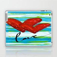 Two Hearts of Love Laptop & iPad Skin