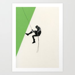 Descent II Art Print