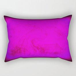 Cool Rothko Inspired Visceral - Modern Art - Bold - Bright Rectangular Pillow