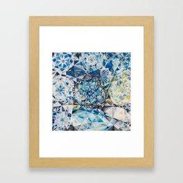 Encrusted Framed Art Print