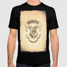 HOGWARTS X-LARGE Mens Fitted Tee Black