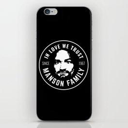 Manson Family - In Love We Trust iPhone Skin