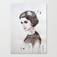 coco Canvas Prints featuring Coco  by Black Fury