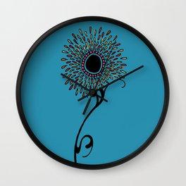Flourish I Wall Clock