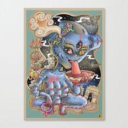 Kaali Canvas Print
