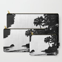 Caribbean B&W Carry-All Pouch