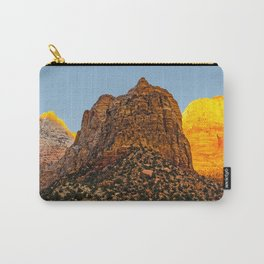 GLOWING EMBERS IN A SUNSET FOR THE DEVAS Carry-All Pouch
