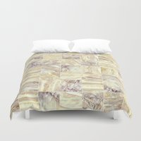 mosaic Duvet Covers featuring Mosaic by Santo Sagese