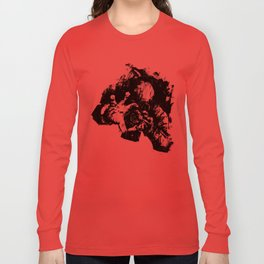Leroy (Messy Ink Sketch) Long Sleeve T-shirt