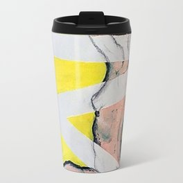 Nude in Lines Travel Mug