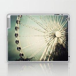 The Wheel Goes Round and Round Laptop & iPad Skin