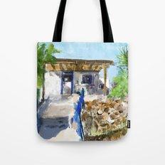 Greek Spitaki Tote Bag