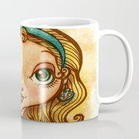 """artsy Mugs featuring """"Artsy Aura"""" by Alicia Templin"""