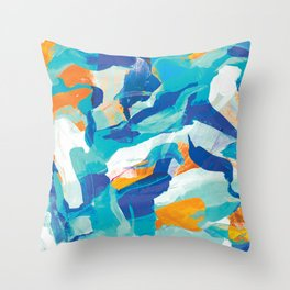 Island Aerial Throw Pillow