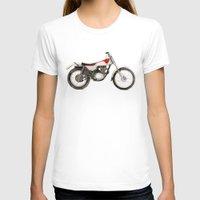 honda T-shirts featuring Honda TL250 by MrsSudo