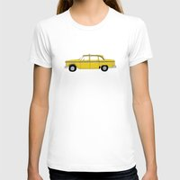 taxi driver T-shirts featuring Taxi Driver - Taxi by V.L4B
