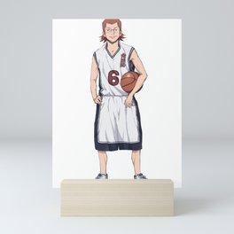 """Saki Masahiro, Ahiru no Sora """"Sky of the Duck"""" Basketball Anime Manga Mini Art Print"""