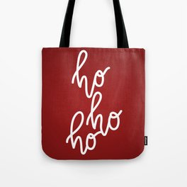 HoHoHo Merry Christmas Tote Bag