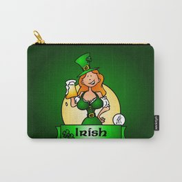 St. Patrick's Day Irish Maiden Carry-All Pouch