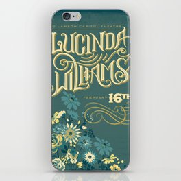 Lucinda Williams  iPhone Skin