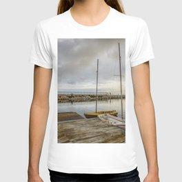 Sunrise on the marina T-shirt