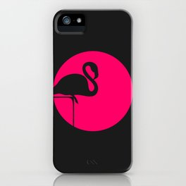 Pink Flamingo iPhone Case
