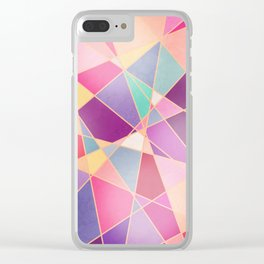 STAINED GLASS WINDOW Clear iPhone Case