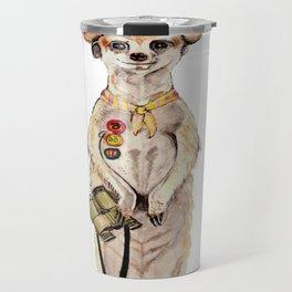 Meerkat Scout Travel Mug