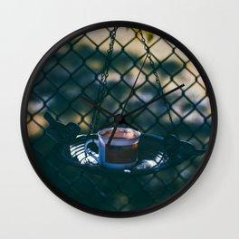 Evening Coffee Wall Clock