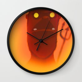 """Final destination"" by Kieran David  Wall Clock"