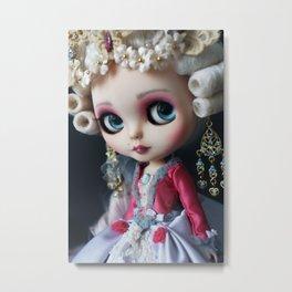 Marie antoniette Masquerade Custom Blythe doll Metal Print