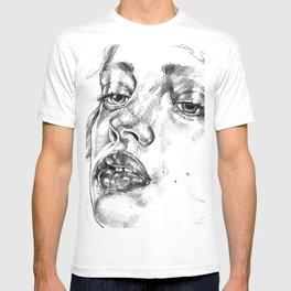 Colored Pencil Portrait T-shirt
