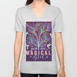 You Are Magic Girl Unisex V-Neck