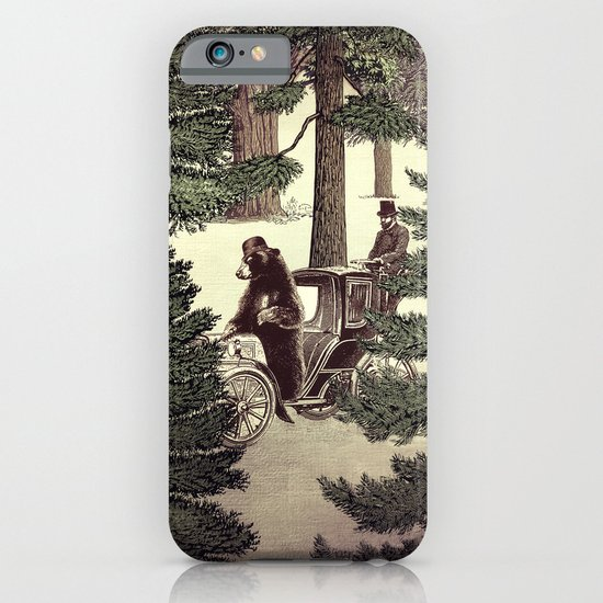 Two Gentlemen in the Forest iPhone & iPod Case